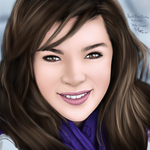Digital Photo Painting 4 (Video- Hailee Steinfeld) by ronggo