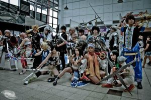 [Cosplay] Final Fantasy group by Faelivrin-chan