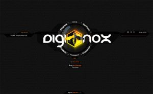 Diginox Website by Alienmatos