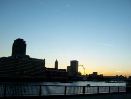 london skyline by smevstock