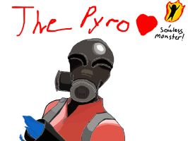 The Pyro :heart: by RuriNeko