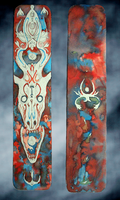 Bone Dragon Bookmark by opika