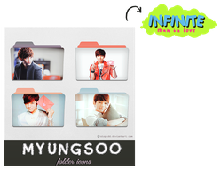 L myungsoo infinite folder icons {REQUEST} by stopidd