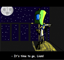 It's time to go, Liam! by Marry-Adinka