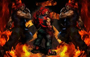 Akuma(BlackOut) by ViciousJosh