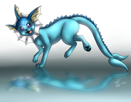 Vaporeon by eevee4everX3