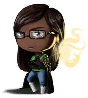 Lysadra Rosier - Chibi Comission by HenLP