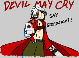 Devil May Cry, Say Goodnight by sonor16