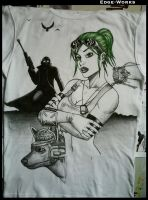 Fallout t-shirt - WIP 4 by Edge-Works