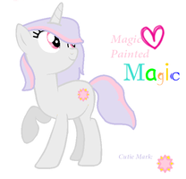 Magic Painted by MaguiPinkie