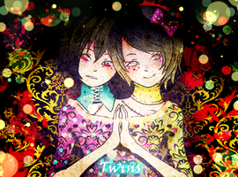 Twins (Eliot-Rose) by asamiXD