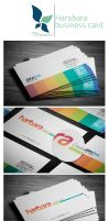 Harbara - Business card by tngraphic