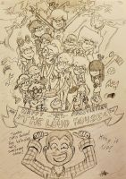 Happy First Anniversary Loud House! by cartoon56