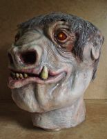 Blue Snaggletooth latex mask by lionback