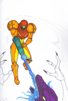 Unfinished Samus by Scuter