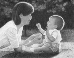 Mother and Child2 by JournalMTW