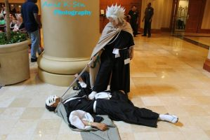 Pwned, Toshiro Style by CeruleanTwin