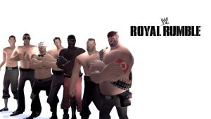 The Royal Rumble by WitchyGmod