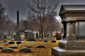 Cemetery test 4 by lightzone