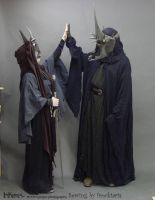 Mordor buddies highfive by InKibus