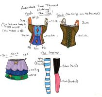 Adventure Time Clothing by angelicbutterfly789