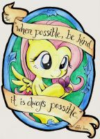 Kindness is Always Possible by Kelly-Jo