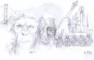 Planet of the Apes by ChrisOzFulton