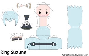 Ring Suzune Papercraft by Tamuu-ii