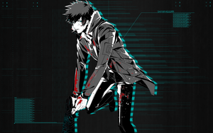 Shinya Kogami by astro-pimp
