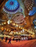 163 - BlueMosque, inside by mfurkanakinci