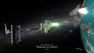 'Welcome To Liberty' by Gisteron