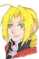 Edward Elric by Katieroses