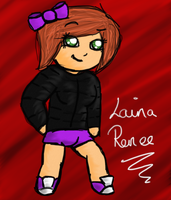 Chibi Request Game - Laina Renee by littleblackmariah
