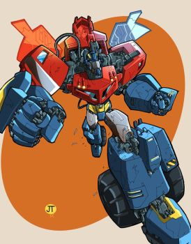 JT Animated Prime colored by MachSabre