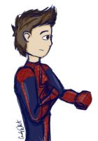 Spider-Doodle by LittleWheat
