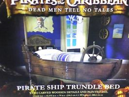 POTC Trundle Bed by CaptTreasureTroveTi