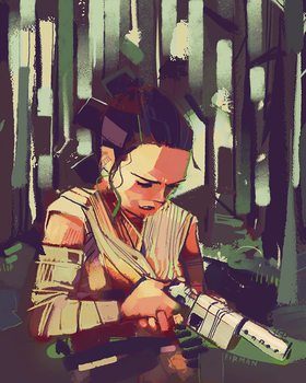 Rey-a-Day 69 Safety First by michaelfirman