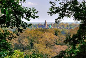 View over Angkor Wat by CitizenFresh