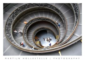 Vatican Double Helix by Svision