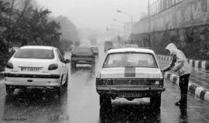 Tehran Taxi by colorain