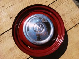 Powder-coated wheel and hubcap by Sheighness
