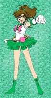 Sailor Jupiter, live in action by NatouMJSonic