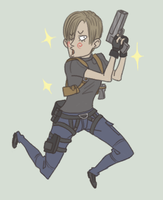 RE4: Shiny Shiny by sparkyHERO