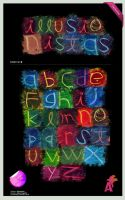 typeface:Illusionistas by Aguiluz