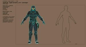 Arghaven - Shock Trooper Concept - WIP by TheGhostBox