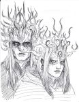 Nuada and Nuala by Lillooler