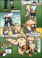 [COM][Comic][Arcanine TF] One free Arcanine 2/2 by LackeDragon