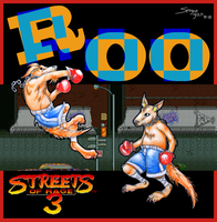 Roo (Streets of Rage 3) by Gan-Retamero