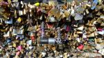Locks on the Pont de l'Archeveche by EUtouring