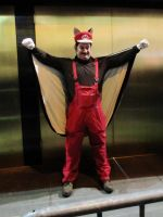 Flying Squirrel Mario by BSMario81